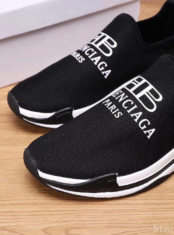 388e9fd1328f Мужские кроссовки Balenciaga лето 2018 чёрного цвета фото, Цена - 6000.00  руб., Мурманск - 51.RU