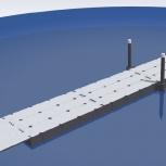 Секция понтонного моста 48 метров, понтонный мост, причал., Мурманск